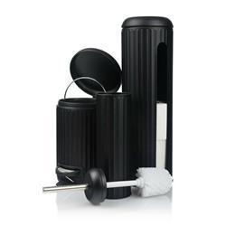 Zestaw akcesoriów łazienkowych - czarny