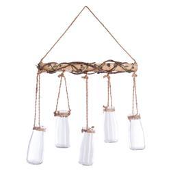 Szklane lampiony na zawieszce