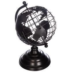 Dekoracyjny globus z metalu