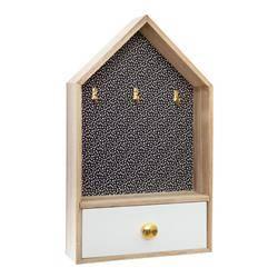 Skrzynka na klucze z szufladą wzór 3