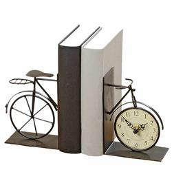 Podpórki do książek Rower z zegarkiem