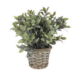Sztuczna roślina doniczkowa 28 cm wzór 1