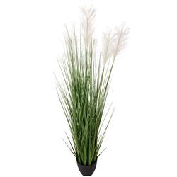 Sztuczna trawa w donicy kwitnąca wzór 4