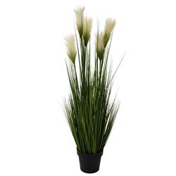 Trawa sztuczna kwitnąca w donicy 118 cm