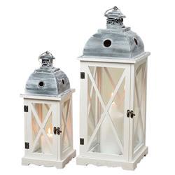 Komplet 2 lampionów Tudor wys 61 cm