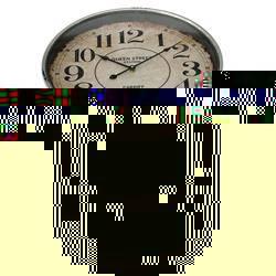 Okrągła komoda Atlanta z zegarem