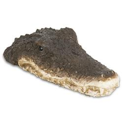 Pływający krokodyl do oczka wodnego