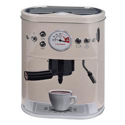 Puszka ekspres do kawy beżowa 22 cm