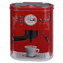 Puszka ekspres do kawy czerwona 22 cm