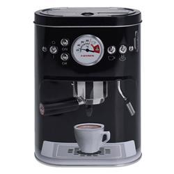 Puszka ekspres do kawy czarna 19 cm