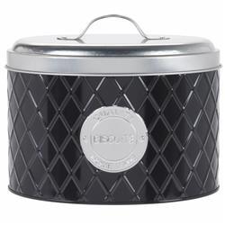 Pojemnik metalowy czarny na słodycze
