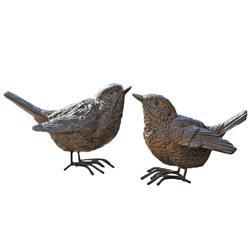 Ozdoba ogrodowa - Ptaki Wróble - Kpl