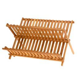 Ociekacz do naczyń z bambusa