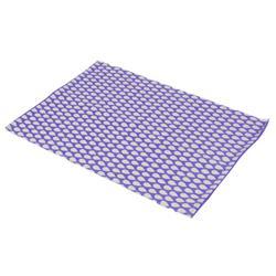 Dywan 60x90 cm wzór kropelkowy fioletowy