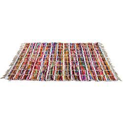 Dywan z frędzlami biały 120x180 cm
