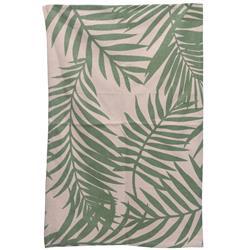 Dywan bawełniany Liście 60x90 cm zielony