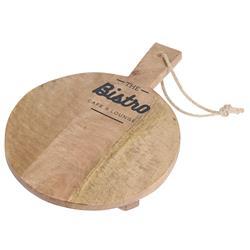 Deska drewniana okrągła Bistro 25 cm