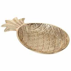 Patera Ananas złota 32 cm