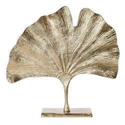 Złoty liść miłorzębu na stojaku 35 cm
