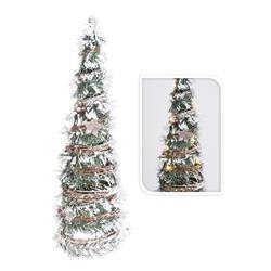 Ozdoba świąteczna choinka 20 led 60 cm