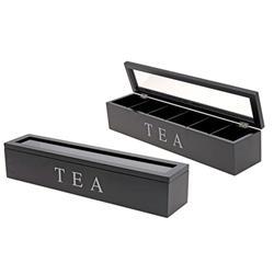 Pudełko na herbatę Tea Box, 6 przegródek