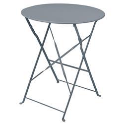Stół składany balkonowy metalowy szary
