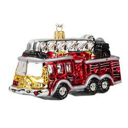 Bombka choinkowa Wóz strażacki