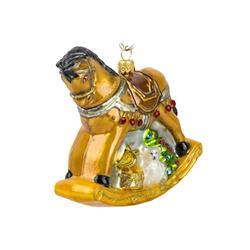 Bombka choinkowa Koń na biegunach 1