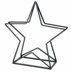 Kosz na drewno w kształcie gwiazdy