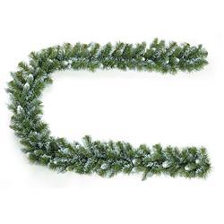 Girlanda świąteczna ośnieżona 275 cm