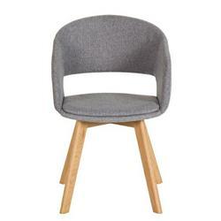 Krzesło Nordic Star Szare nogi jasne
