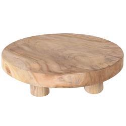 Podstawka z drewna tekowego 30 cm
