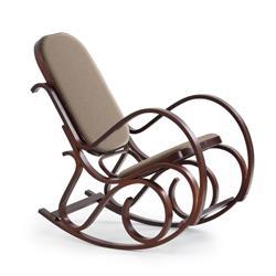 Fotel bujany Max Bis Plus orzech