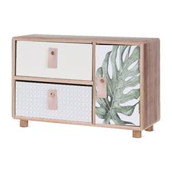 Szafka organizer 2 szuflady drzwiczki