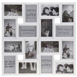 Multiramka na 16 zdjęć 10x15 biała