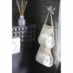 Organizer na papier toaletowy bawełniany