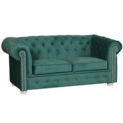 Sofa tapicerowana Chesterfield 2 osobowa