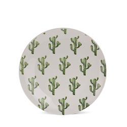 Talerz ceramiczny 20,5 cm Tropiki wzór 3