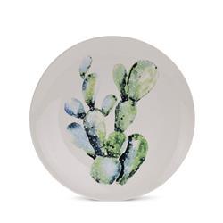 Talerz ceramiczny 26 cm Tropiki wzór 2
