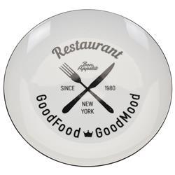 Talerz porcelanowy biały Restaurant 26cm