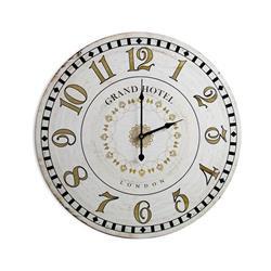 Zegar ścienny Grand Hotel kremowy 60 cm