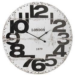 Zegar ścienny London biały 60 cm