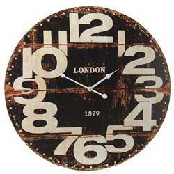 Zegar ścienny London czarny 60 cm