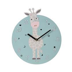 Zegar ścienny okrągły Żyrafa