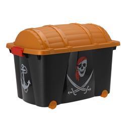 Duży kufer na zabawki - Pirat