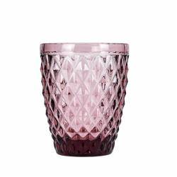 Szklanka Diament różowa 270 ml
