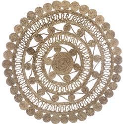Okrągły dywan jutowy Ritual 120 cm