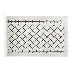 Tkany dywan z frędzlami Delhi 120x170 cm