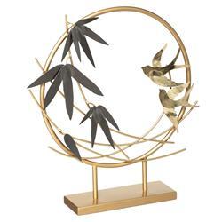Metalowa figurka Ptaki 36,5 cm