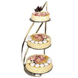Stojak metalowy Nowell na ciasta i torty